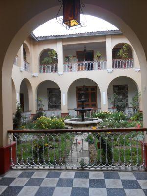 Huancayo courtyard