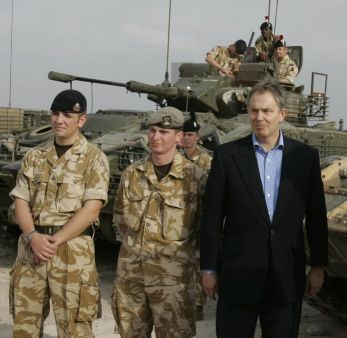 Blair in Iraq